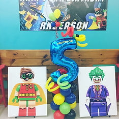 Birthday Balloon Number 5 | Eye Candy Balloons