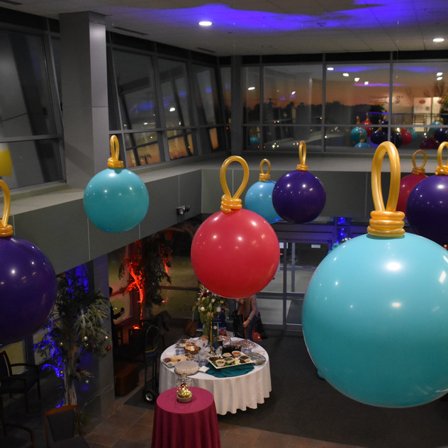 Ceiling Balloon Ornaments