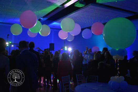 Bar Mitzvah Bat Mitzvah Balloons Dance Floor Balloons