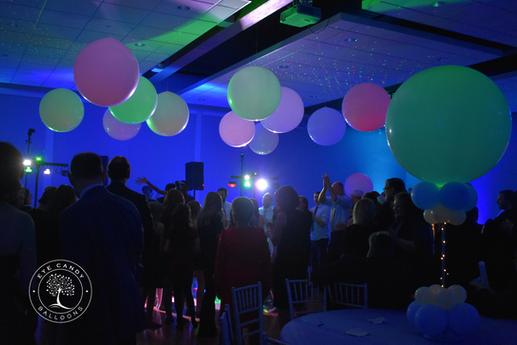 Bar Mitzvah Bat Mitzvah Balloons Dance Floor Balloons by Eye Candy Balloons