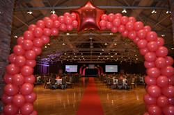 Awards Night Stage Balloon Decor