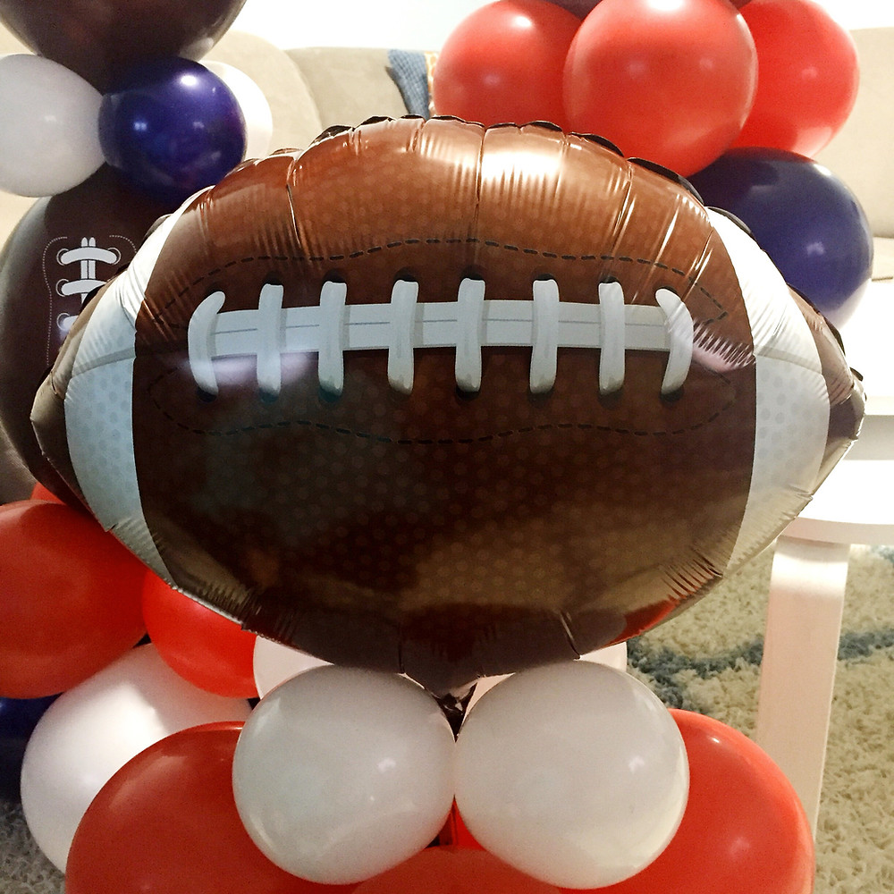 Superbowl Party Balloons