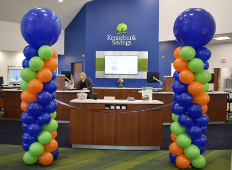 Ribbon Cutting Ceremony for Kennebunk Savings