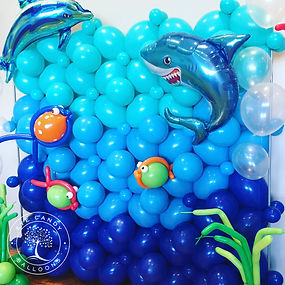 Under the Sea Balloon Wall by Eye Candy