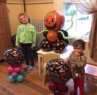 Halloween Balloon Decorations