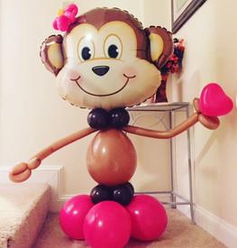 Valentine Monkey Balloon Decorations New Hampshire