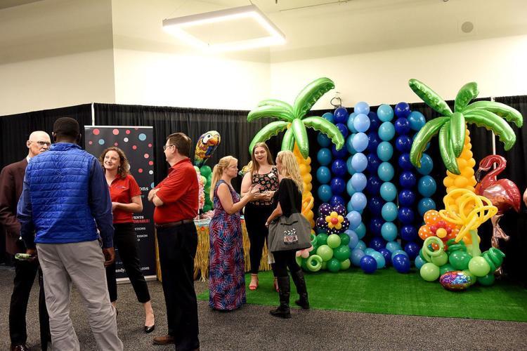 Eye Candy Balloons Tri-City Expo Tropical Beach Party Balloons Manchester NH