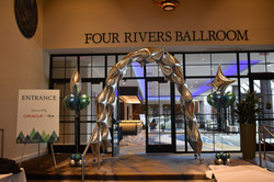 Balloon Tunnel and Arch Entrance