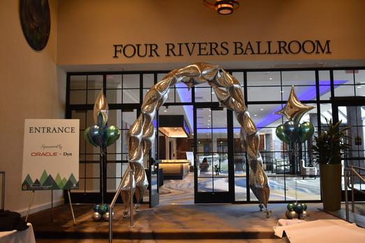 Gala Entrance Balloon Arch | Eye Candy Balloons
