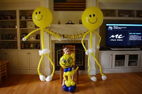 Emoji Party Balloon Sculptures