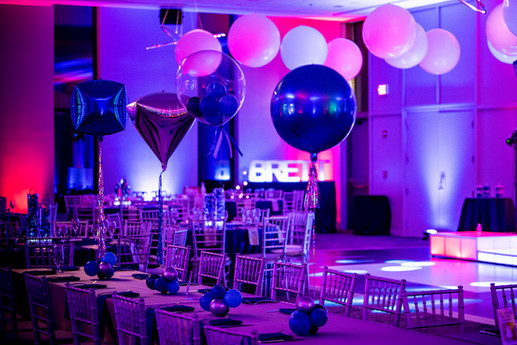 Mitzvah Balloon Centerpieces Mitzvah Kid Table Centerpieces by Eye Candy Balloons