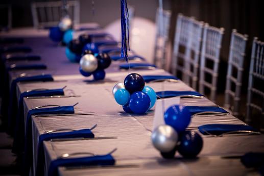 Organic Balloon Centerpiece by Eye Candy Balloons