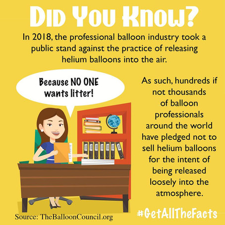 We're ANTI-Balloon Releases!