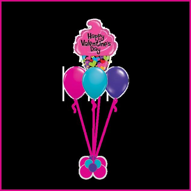 Order Valentine Balloon Bouquet