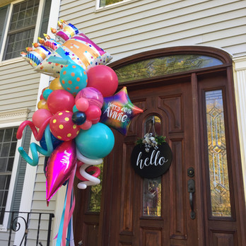 Celebration Balloon Dazzler with Balloon Delivery in New Hampshire by Eye Candy Balloons