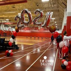 2021 Balloon Arch   School Graduation Balloons   Eye Candy Balloons