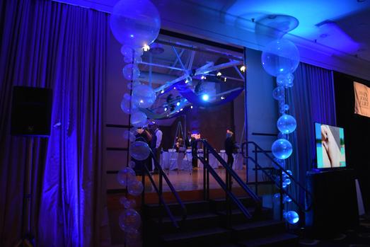 Corporate Gala Balloon Columns | Eye Candy Balloons