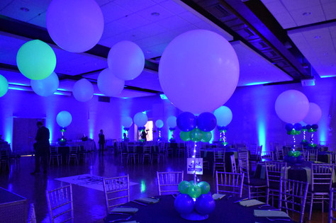 Mitzvah Balloon Centerpieces Dance Floor Balloons
