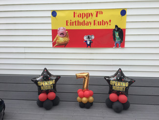 SING Party Balloon Decorations New Hampshire
