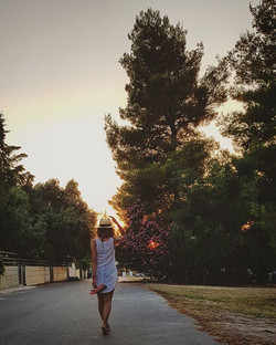 #greece #summer #photography #sun #sunlight #sunset #nature #barefoot #holiday #trees #beautiful #s8