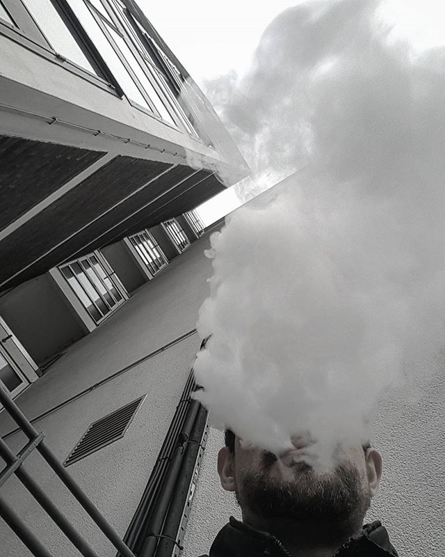 #london #uk #portrait #photography #selfportrait #beard #greek #vape #vaping #clouds