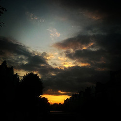 #london #sky  #sunset