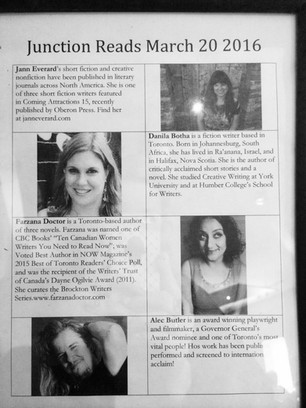 Junction Reads, Reading Series