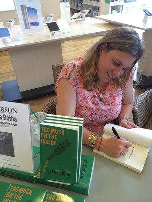 East Coast Tour- Book Signing at Chapters Bayer's Lake