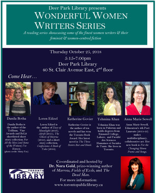 Wonderful Women's Writers Series