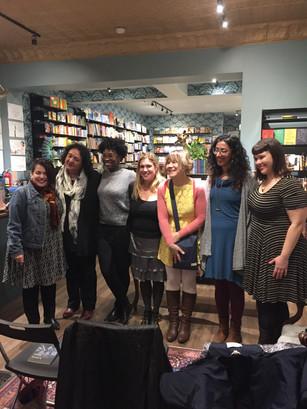 Queen Books/International Women's Day reading photos