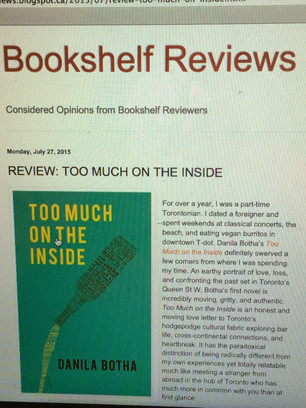 Review on the Bookshelf