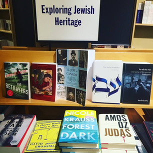 For All the Men... in the Exploring Jewish Heritage display at Chapters Indigo