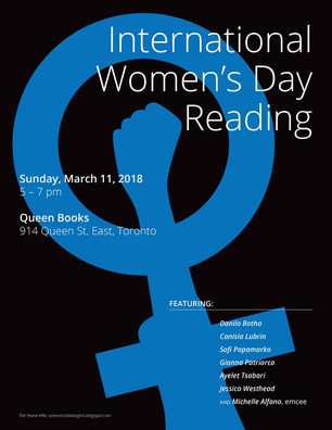 International Women's Day Reading at Queen Books