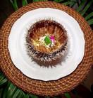 Oursin blanc en vinaigrette