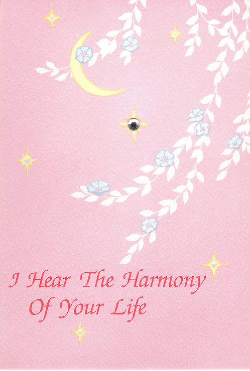 Harmony of your life (Note Card)