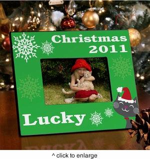 Christmas Pet Frames