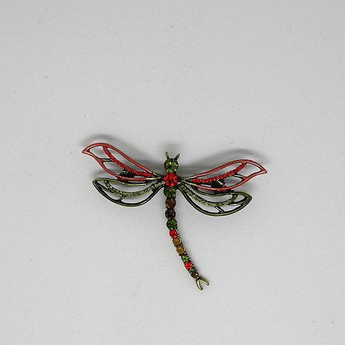 Colorful Dragonfly Pin/Brooch