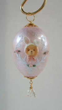 Teddy Bear inBunny Disguise