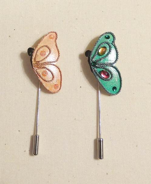 Butterfly Stick Pins