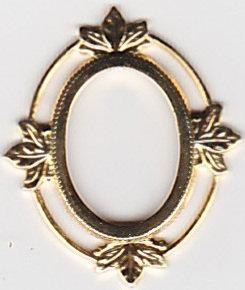 Cameo or Cabochon Frame