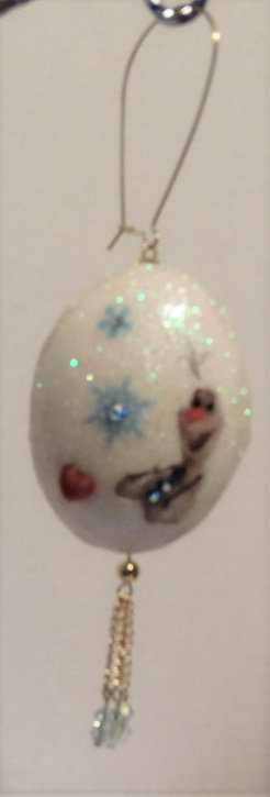 Olaf Musical Ornament