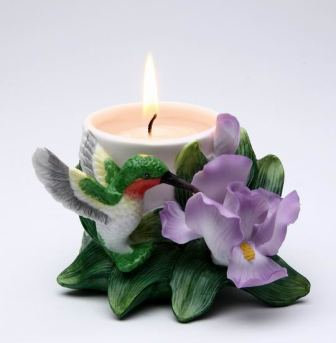 Hummingbird Votive Holder