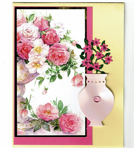 Roses and Vase