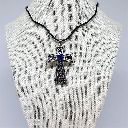 J089 Blue Stone Cross