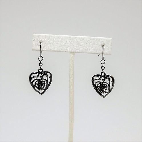 J066 Heart Earrings