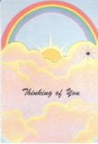 Thinking of you Rainbow (Note Card)