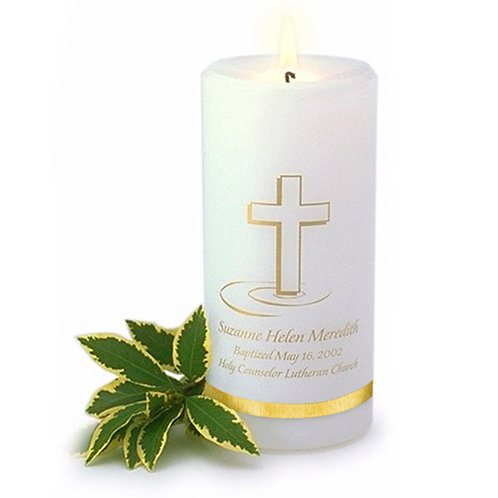 TCGC321 Baptismal Candle