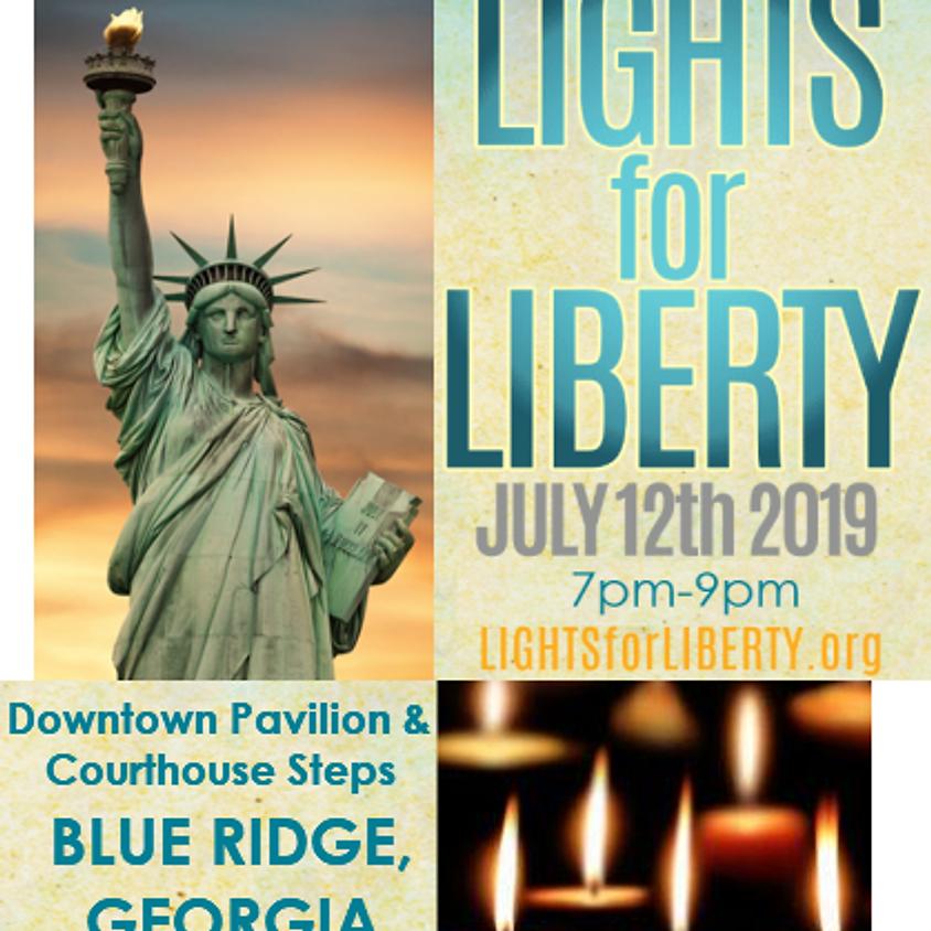 Lights for Liberty-Blue Ridge