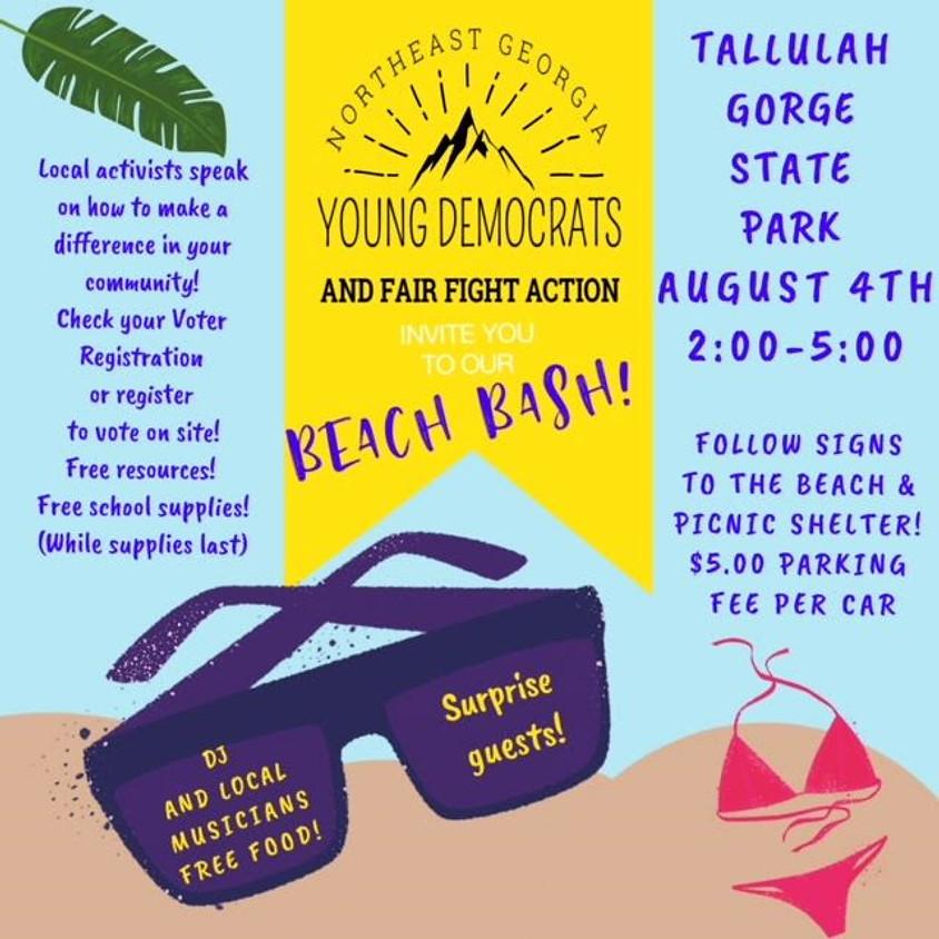 Northeast GA Young Democrats Beach Bash
