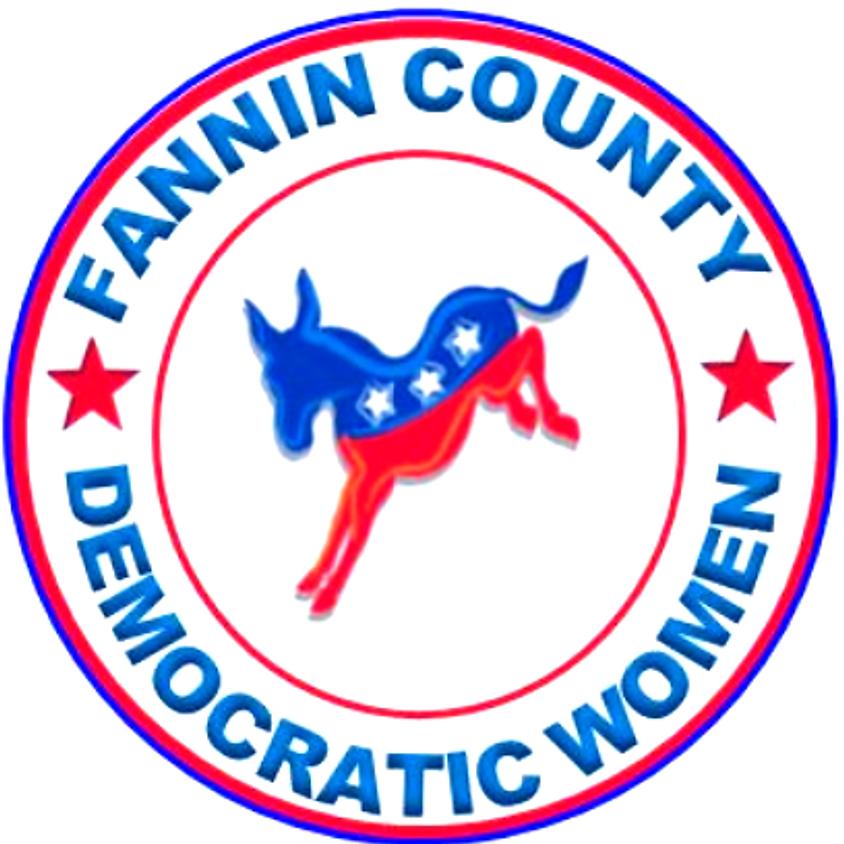Fannin County Democratic Women's July Meeting